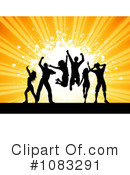 Dance Team Clipart #1083291 by KJ Pargeter