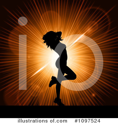 Sexy Woman Clipart #1097524 by KJ Pargeter
