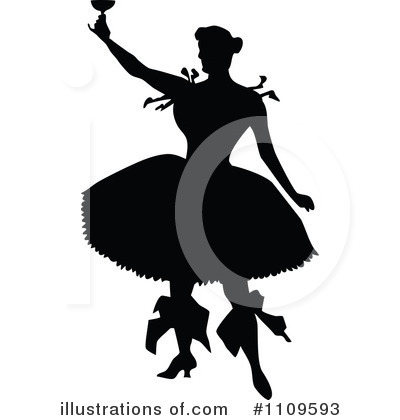 Ballet Clipart #1109593 by Prawny Vintage