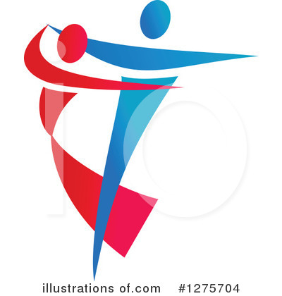 Dancer Clipart #1275704 by Vector Tradition SM