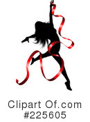 Royalty-Free (RF) Dancer Clipart Illustration #225605
