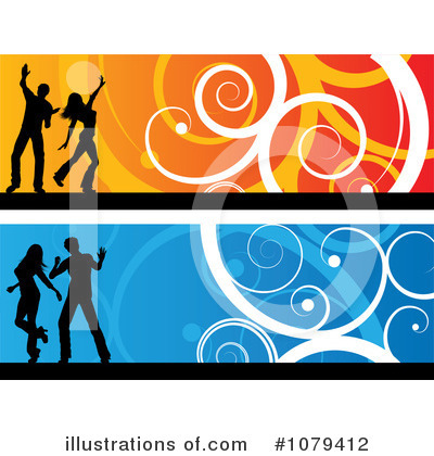 Royalty-Free (RF) Dancers Clipart Illustration by KJ Pargeter - Stock Sample #1079412