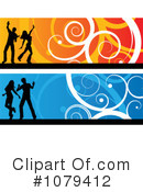 Royalty-Free (RF) Dancers Clipart Illustration #1079412