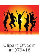 Dancers Clipart #1079416 by KJ Pargeter