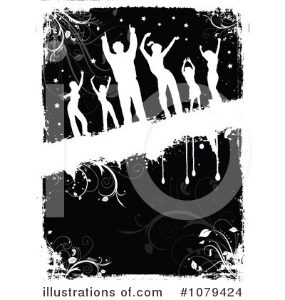Dancing Clipart #1079424 by KJ Pargeter