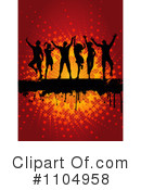 Dancers Clipart #1104958 by KJ Pargeter