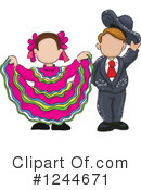 Dancers Clipart #1244671 by David Rey