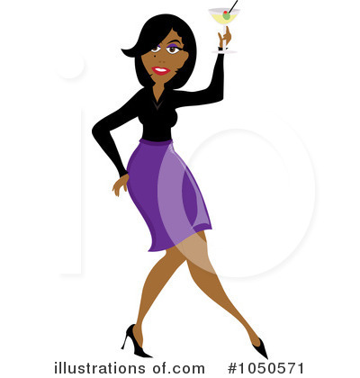 Royalty-Free (RF) Dancing Clipart Illustration by Pams Clipart - Stock Sample #1050571