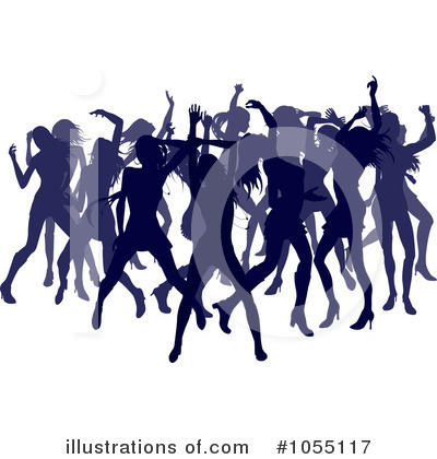 Dancing Clipart #1055117 by AtStockIllustration
