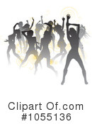 Royalty-Free (RF) Dancing Clipart Illustration #1055136