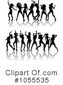 Dancing Clipart #1055535 by AtStockIllustration