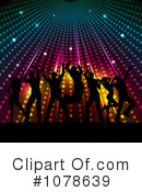 Royalty-Free (RF) Dancing Clipart Illustration #1078639