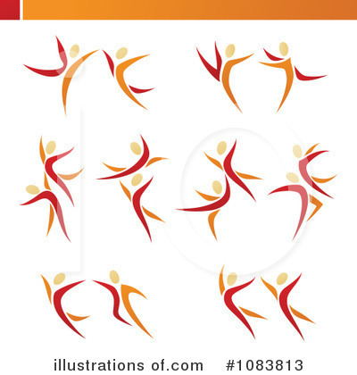 Royalty-Free (RF) Dancing Clipart Illustration by elena - Stock Sample #1083813