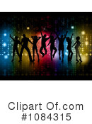 Royalty-Free (RF) dancing Clipart Illustration #1084315