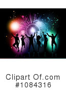 Royalty-Free (RF) Dancing Clipart Illustration #1084316