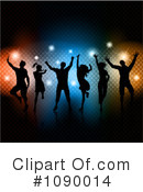 Royalty-Free (RF) Dancing Clipart Illustration #1090014