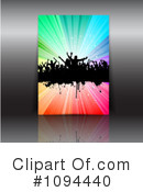 Dancing Clipart #1094440 by KJ Pargeter