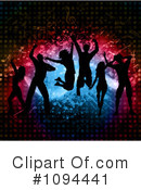 Royalty-Free (RF) Dancing Clipart Illustration #1094441