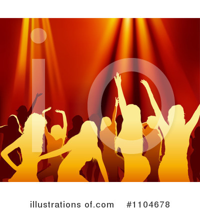 Dancing Clipart #1104678 by dero