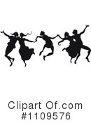 Dancing Clipart #1109576 by Prawny Vintage