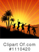 Royalty-Free (RF) Dancing Clipart Illustration #1110420