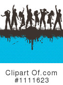 Royalty-Free (RF) Dancing Clipart Illustration #1111623