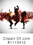 Dancing Clipart #1113412 by KJ Pargeter