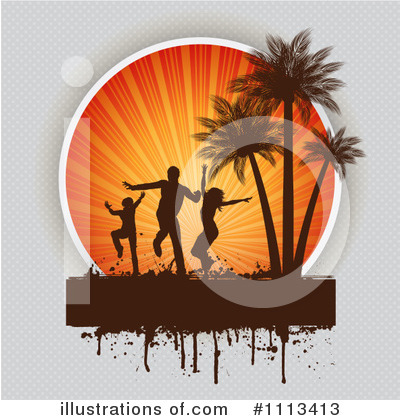 Silhouetted People Clipart #1113413 by KJ Pargeter