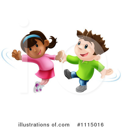 Royalty-Free (RF) Dancing Clipart Illustration by AtStockIllustration - Stock Sample #1115016