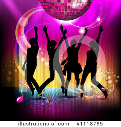 Disco Ball Clipart #1118765 by merlinul