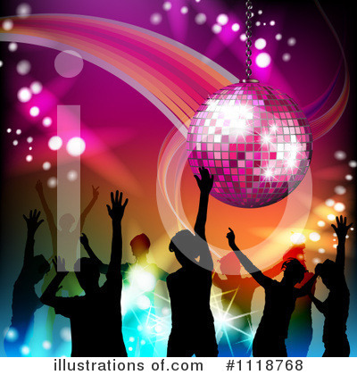 Disco Ball Clipart #1118768 by merlinul
