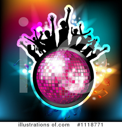Disco Ball Clipart #1118771 by merlinul