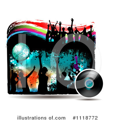 Disco Ball Clipart #1118772 by merlinul