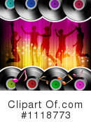 Royalty-Free (RF) Dancing Clipart Illustration #1118773