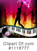 Royalty-Free (RF) Dancing Clipart Illustration #1118777