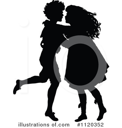 Dancing Clipart #1120352 by Prawny Vintage