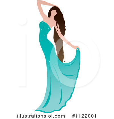 Royalty-Free (RF) Dancing Clipart Illustration by Pams Clipart - Stock Sample #1122001