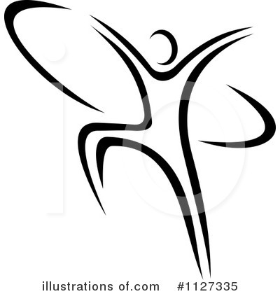 Dancer Clipart #1127335 by Vector Tradition SM