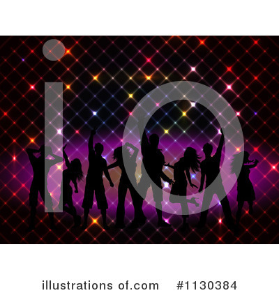 Silhouetted Dancers Clipart #1130384 by KJ Pargeter