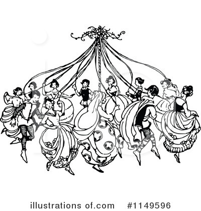 Dancing Clipart #1149596 by Prawny Vintage