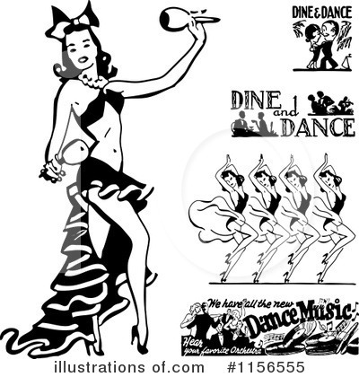 Dancing Clipart #1156555 by BestVector