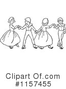 Dancing Clipart #1157455 by Prawny Vintage