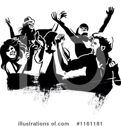 Dancing Clipart #1161181 by Frisko