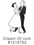 Royalty-Free (RF) Dancing Clipart Illustration #1215752