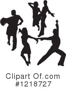Dancing Clipart #1218727 by dero