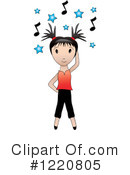 Dancing Clipart #1220805 by Pams Clipart