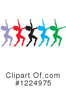 Dancing Clipart #1224975 by Johnny Sajem
