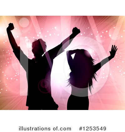 Couple Clipart #1253549 by KJ Pargeter