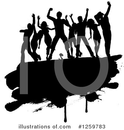 Dancing Clipart #1259783 by KJ Pargeter