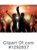 Dancing Clipart #1292837 by KJ Pargeter